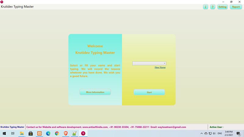 Kruti Dev Font Typing Master